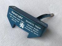 putter de golfe versa venda por atacado-Nova marca Jean Baptiste Gautier JB301P Putter Azul Jean Baptiste Golfe Tacos de Golfe Putter 33/34/35 Polegada Eixo de Aço Com Tampa Da Cabeça