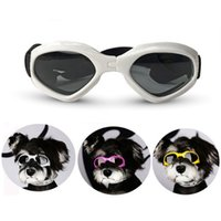 Wholesale dog sunglasses freeshipping resale online - Pet Foldable Glasses Pet Dog Sunglasses Eye Wear Dog Protection UV Waterproof Sunglasses Cats Dogs Accessories