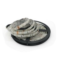 tira de carrete al por mayor-SMD 5050 150leds IP65 a prueba de agua 5m / carrete RGB y color único seleccionable 30leds / m Led Strip 50m / lot