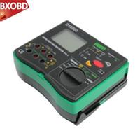 Wholesale insulation tester meter resale online - DY5500 Digital Multi function Multimeter Insulation Earth Tester Voltmeter Earth Meter Phase Indicator