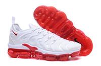 kd mor basketbol ayakkabıları toptan satış-Metalik Tasarımcı Üçlü Beyaz Siyah Eğitmen Sport Men In Kadınlar Kraliyet Smokey Leylak Dize colorways Zeytin İçin vapormax TN Artı Koşu Ayakkabı