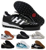 Wholesale flat leather boots 39 for sale - Group buy Classics Mens Copa MUNDIAL GOAL INDOOR Team Astro Modern Craft TF TURF Soccer Football Shoes Boots Scarpe Calcio Cheap Cleats Size