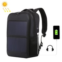 Wholesale solar panels bag for sale - Group buy HAWEEL Solar Backpack W Solar Panel Powered Backpack Laptop Bag Water resistant Large Capacity with External USB Charging Port