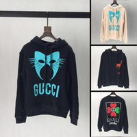 paris hoodie savun toptan satış-2019 yeni varış sonbahar erkek tasarımcı hoodie ünlü marka streetwear gevşek fit erkekler kazak yüksek kaliteli pamuk adam hoodies ER22