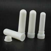 1000sets lot Hot sale Blank Nasal Inhaler Sticks, Plastic Blank Aroma Nasal Inhalers for DIY essential oil LX7171