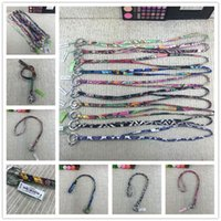 Wholesale lanyards for keychains resale online - VB Retro Floral Lanyards Brand Key Ring Sling Keychains Necklace Multipurpose Hanging Rope Phone Strap for ID Card Key EP Cloth C82602
