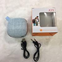 ingrosso giocatore di boombox-Altoparlante Bluetooth Panno tessuto per biciclette all'aperto Mini Boombox portatile Stereo senza fili Surround Music Player Tf Card per telefono Car Audio