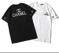 marca dd al por mayor-YY- DD camiseta de algodón de verano, camiseta de la marca de moda, camiseta de hombre impresa, camiseta casual y cómoda