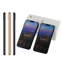 ingrosso android smartphone tv analogico-goophone P20 Pro telefoni cellulari Smart Phone con cordicelle Quad Core 5,5 pollici telefoni cellulari 1GB + 4GB Mostra falsi telefoni cellulari 4G