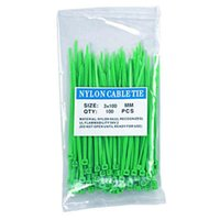 Hot!20//100PCS Cable Zip Ties Ethernet Wire Power Label Mark Tags 11cm US