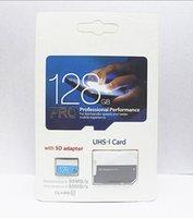 Wholesale digital tablets online - 1PCS New arrival GB GB GB micro card Pro Class10 UHS MicroSDXC TF Card for Tablet PC Digital Camera Smart Phones