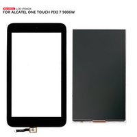 Wholesale one touch alcatel lcd screen resale online - For Alcatel One Touch Pixi OT9006 W LCD Display Touch Screen Digitizer Free Tools
