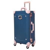 baúles para niñas al por mayor-2019 maletas con ruedas rodando el equipaje Hardside PU maletero con ruedas 24inch maletas para niños Niños