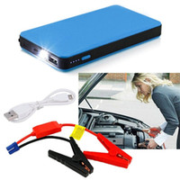 Wholesale emergency car jump start for sale - Group buy Utral thin Car Jump Start mAh V Auto Engine EPS Emergency Start Battery Source Laptop Portable Charger
