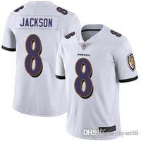 ingrosso jersey calcio americano viola-Uomo donna Lamar Jackson Ravens Jersey Earl Thomas Justin Tucker Jaylon Ferguson Baltimore viola maglie da football americano personalizzate all'ingrosso