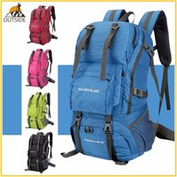 Wholesale external backpack frames resale online - High Quality Professional Waterproof Rucksack External Frame Outdoor Climbing Camping Hiking Backpack Mountaineering Bag