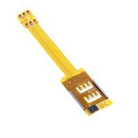 Wholesale Dual SIM Card Adapter Converer Smartphone SIM Card Adapter For iPhone S S S