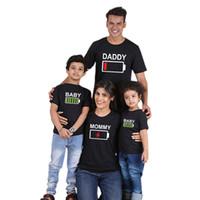 chemises assorties pour mère fille achat en gros de-famille correspondant vêtements tenues mère et fille 2019 famille correspondant vêtements coton court Family Matching Short Sleeve T-shirt