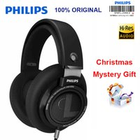 Wholesale phone philips online – custom Philips Shp9500 Professional Earphone With m Long Wire Noise Reduction Headphones For Xiaomi Samsung S8 Mp3 Official Test J190506