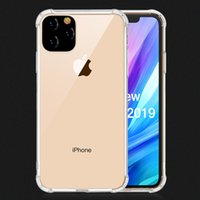 Wholesale clear bumper case note online – custom For New iPhone R Max Note Pro Transparent Shockproof Acrylic Hybrid Armor Bumper Soft TPU Frame PC Hard Back Case Cover