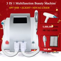 Wholesale salon ipl hair removal machines for sale - Group buy big promotion laser hair removal ipl spa salon machine permanent hair removal yag tattoo removal spa equipment years warranty