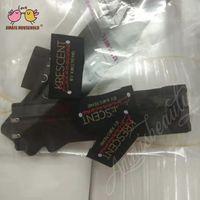 conjuntos de cama embalagem venda por atacado-Logo 1000pcs Personalizado Sew em pano Etiqueta Logo para a marca pano Bed Definindo produtos Cabelo Negócios Peruca Embalagem 40x20mm DHL frete grátis