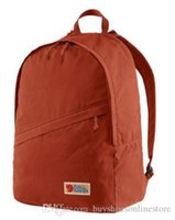 Wholesale laptops 16 for sale - Group buy Fjallraven Red Vardag Backpacks Unisex Canvas Bags Fashion Computer Bags Large Capacity Schoolbags Laptop Backpacks Discount