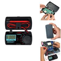 Wholesale voltage multimeter resale online - EM3081 LCD Display Digital Multimeter t AC DC Ammeter Voltmeter Ohm Portable Meter Voltage Meter