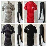 равномерное поло оптовых-2019 новый мужской комплект футбол рубашка поло униформа лучшее качество настроить 19/20 футболки поло Dimen