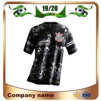 jerseys futebol brasil venda por atacado-Camisa Corinthians Corinthians 19/20 19/20 Terceira camisa # 10 JADSON Camisa de futebol PABLO BALBUENA ROMERO 3o Brasil Uniforme de futebol personalizado