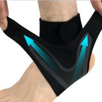elastik ayak dirseği toptan satış-Ayak Bileği Koruyucu Spor Ayak Bileği Desteği Elastik Ayak Bileği Brace Guard Ayak Desteği Spor Dişli 1 adet RRA1510