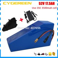 Wholesale 18ah battery for sale - 1000W V Lithium battery V AH battery pack V AH Triangle ebike battery use Samsung mah cell A BMS with bag