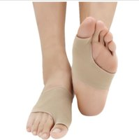 Wholesale bunions pads for sale - Group buy Foot Care Fabric Gel Bunion Pads Protectors Sleeves Shield Anti friction Big Toe Joint Insoles Hallux Valgus Corrector