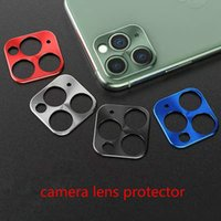Wholesale pouch camera for sale - Group buy For Mobile Phone camera Lens Protection Cover For iPhone Pro Max Camera Lenses Protector Bumper Ring Case Smartphone alloy lens cap