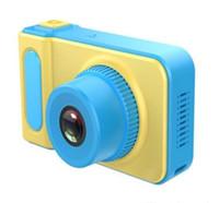 ev için mini casus kameraları toptan satış-Mini Dijital Kamera Çocuklar Kamera Sevimli Karikatür Kam 1080 P Yürüyor Oyuncaklar Çocuk Doğum Günü Hediyesi 2 Inç Ekran Kam Doğum Günü Hediyesi Inç Ekran