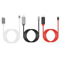 ingrosso usb esteso-2M USB 3.1 Cavo USB da C a HDMI Convertitore da -C a HDMI 4K Grafica video esterna HD a 30 Hz Estendere cavo / adattatore