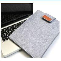 casos de tablet animal venda por atacado-Notebook Capa Sentiu Laptop Tablet Saco De Armazenamento para homens Saco de 13 Polegada Tablet Case Capa sacos # 541913