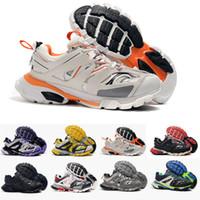 b iz toptan satış-En Kaliteli Parça Yayın 3.0 Tess S Paris Üçlü S Sneakers kadınlar Için temizle sole Erkek Tasarımcı Ayakkabı Erkekler Sneakers Eğitmenler Sepetleri