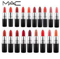 Wholesale mac makeup for sale - MC m Makeup Luster Lipstick Frost Lipstick Matte Lipstick g