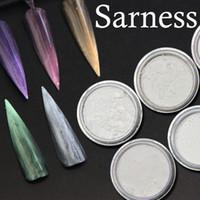 флуоресцентные цвета оптовых-Sarness Colours Nail Glitter Эффект флуоресцентного пигмента Glow In the Phosphorus 3D-маникюр для украшения ногтей