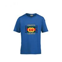 ropa para niñas al por mayor-2019 Ropa para niños Camiseta de manga corta para niños Camiseta linda de la marca Pure Cotton Girl para niños Chaqueta entera