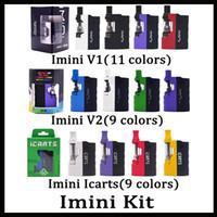 batteries en forme v2 achat en gros de-100% original Kit Icarts Imini V1 V2 avec cartouches 0.5 / 1.0ml Préchauffer la batterie Mod Fit Cartouche Liberty Vs Vmod Palm Battery