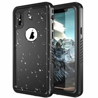Wholesale battery cover waterproof online – custom Redpepper Waterproof Case Shockproof Dirt resistant Swimming Surfing Cases Cover For iPhone Xs max Xr s Samsung S9 S8 NOTE FREE dhl