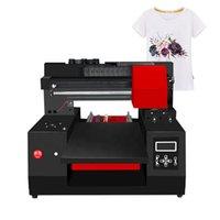 impresoras de bolsas al por mayor-DX9 A3 33 * 60CM DIY impresora de camiseta de cama plana para la impresión de zapatos, bolsas, calcetines