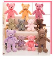 panda bear dolma oyuncak toptan satış-Oyuncak Ayılar Bebek Peluş Oyuncak Hediyeler Doldurulmuş Hayvanlar Peluş Yumuşak Oyuncak Ayı Doldurulmuş Bebekler Çocuklar Küçük Oyuncak Ayılar çocuk oyuncakları 30cm