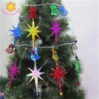 Wholesale pendant supplies for sale - Group buy New Arrival Christmas Tree Decoration String Hanging Pendant Ornaments School Birthday Party Supplies Reusable Multi Style txH1