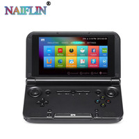 tablet pc console de jogos venda por atacado-Original GPD XD Plus 5 polegada Android 7.0 Handheld Gaming Laptop Mini Game Console 4 GB / 32 GB Jogo Tablet PC