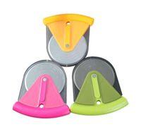 protección de la hoja al por mayor-1 Pack Pizza Cutter Grips Mini Pizza Cutter y Rueda con protección de cuchilla