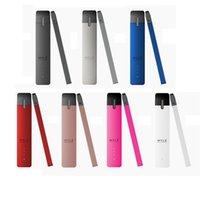 ecigs starter achat en gros de-Kits de démarrage de batterie Myle 240Mah avec multipack Pods nouveau emballage clone 7 couleurs kit Vaporisateur Ecigs kit DHL gratuit