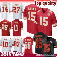 e47d9b52e Wholesale chiefs jerseys resale online - 15 Patrick Mahomes II Kansas City  Jersey Chiefs Sammy Watkins